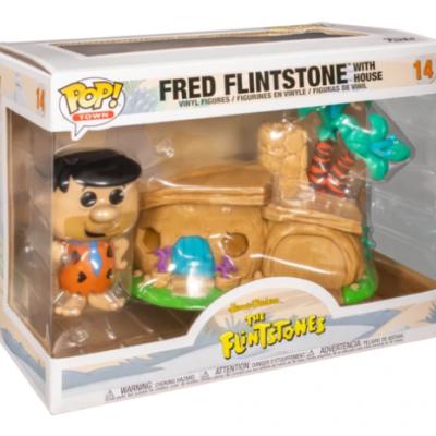 Funko POP! Town The Flintstones Fred Flintstone With House #14