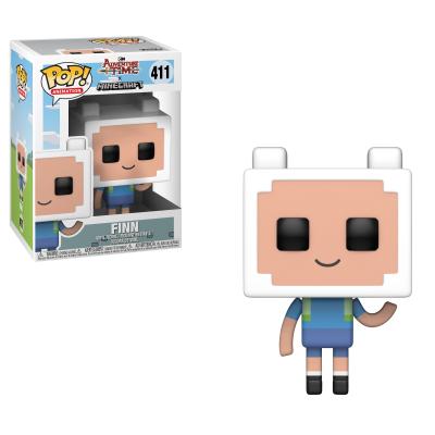 Funko! Pop Adventure Time X Minecraft Finn #411