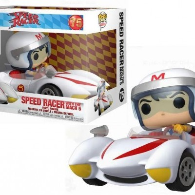 Funko POP! Rides Speed Racer With The Mach 5 #75