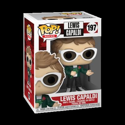 * PRÉ-RESERVA * Funko POP! Rocks Lewis Capaldi #197