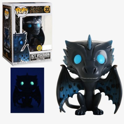 Funko POP! Game of Thrones Icy Viserion GITD #22 Special Edition