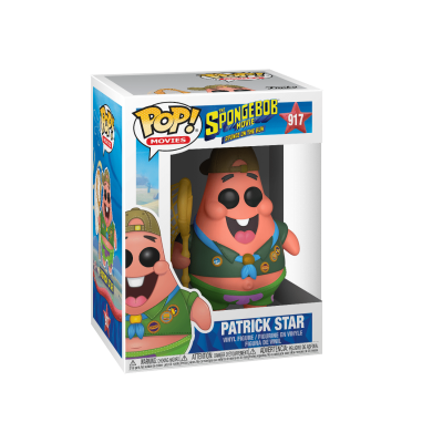 Funko POP! Sponge On The Run Patrick Star #917