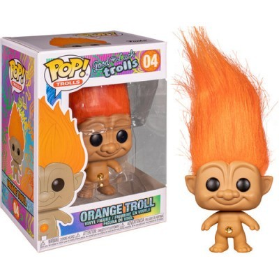 Funko POP! Good Luck Trolls Orange Troll #04