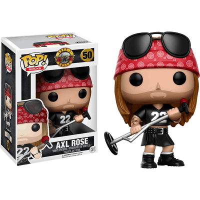 Funko! Pop Guns n´ Roses Axl Rose