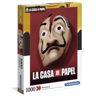 Puzzle La Casa De Papel (ver. 2) 1000 Peças Clementoni