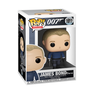 Funko POP! Movies 007 James Bond From No Time To Die #1011
