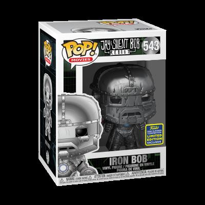 Funko POP! Movies Jay & Silent Bob Reboot Iron Bob #543 SDCC2020 Exclusive