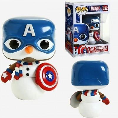 Funko! Pop Marvel Holiday Caps Snowman