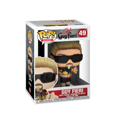 Funko! Pop Icons Guy Fieri #49