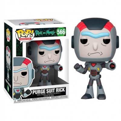 Funko POP! Rick & Morty Purge Suit Rick #566