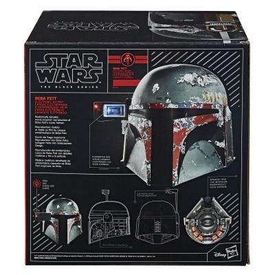 Réplica 1/1 Capacete Star Wars Boba Fett (Electronic) Hasbro