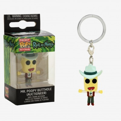 Funko Pocket POP! Keychain Rick And Morty Mr. Poopy Butthole (Auctioneer)