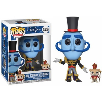 Funko! Pop Coraline Mr. Bobinsky with Mouse