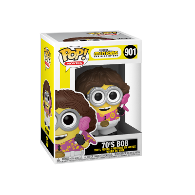 Funko POP! Movies Minions The Rise of Gru 70's Bob #901