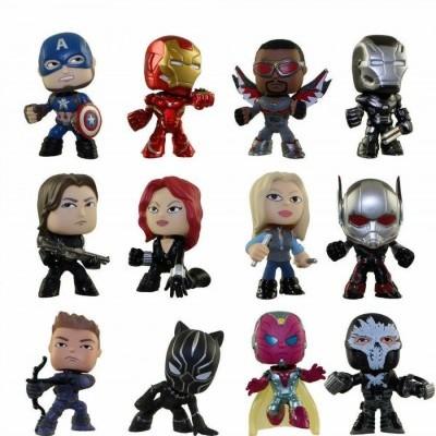 Funko POP! Mystery Mini Figures Blind Box Captain America Civil War