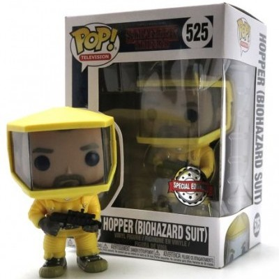 Funko POP! Stranger Things Hopper Biohazard Suit #525 Special Edition