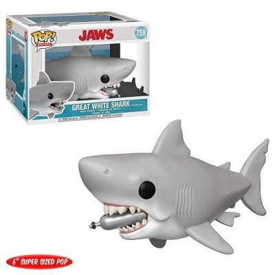 Funko! Pop Jaws Shark Diving Tank Oversized