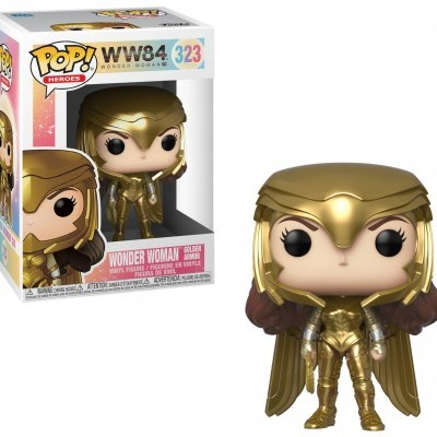 Funko POP! DC Wonder Woman 1984 Wonder Woman Golden Armor ver1 #323
