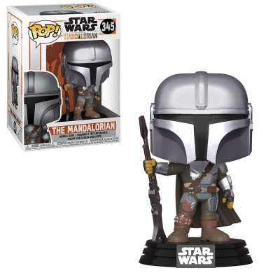 Funko! Pop Star Wars Mandalorian The Mandalorian #345