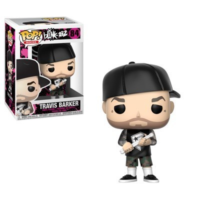 Funko! Pop Rocks Blink-182 Travis Barker #84