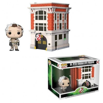 Funko! Pop Town Ghostbusters Peter with House