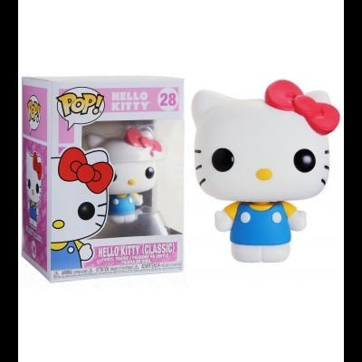 Funko POP! Hello Kitty Classic #28 Flocked Exclusive