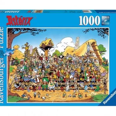 Puzzle Astérix Family Photo 1000 Peças Ravensburger
