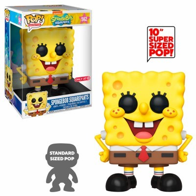 "Funko POP! Spongebob Squarepants 10"" Super Sized #562 Special Edition"