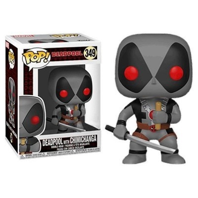 Funko! Pop Deadpool Deadpool with Chimichanga Exclusive