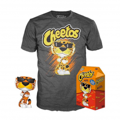 Funko POP! Tees Cheetos Chester Cheetah Special Edition Glow In The Dark