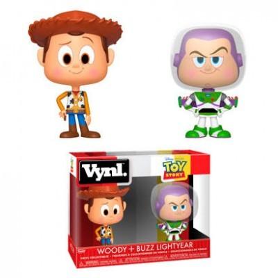 Funko! Vynl Toy Story Woody + Buzz Lightyear
