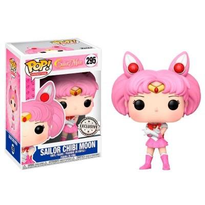 Funko POP! Sailor Moon Sailor Chibi Moon Glitter #295 Exclusive