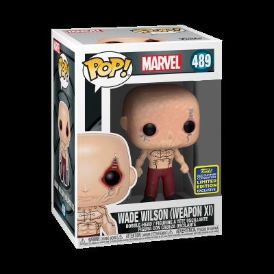 Funko POP! Marvel X-Men Wade Wilson (Weapon XI) #489 SDCC2020 Exclusive