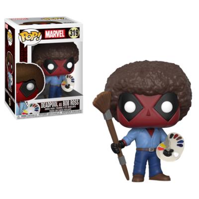 Funko! Pop Deadpool Deadpool as Bob Ross