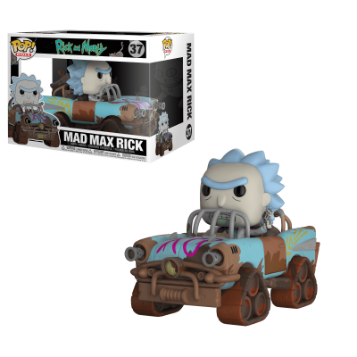 Funko POP! Rides Rick & Morty Mad Max Rick #37