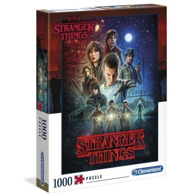 Puzzle Stranger Things (Temporada 1) 1000 Peças Clementoni