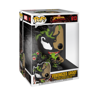"Funko! Pop Marvel Spider-Man Maximum Venom Venomized Groot 10"" Supersized #613"