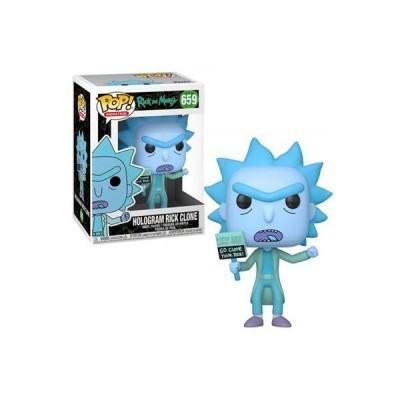 Funko POP! Rick & Morty Hologram Rick Clone #659