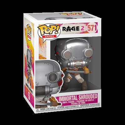 Funko! Pop Games Rage 2 Immortal Shrouded #571