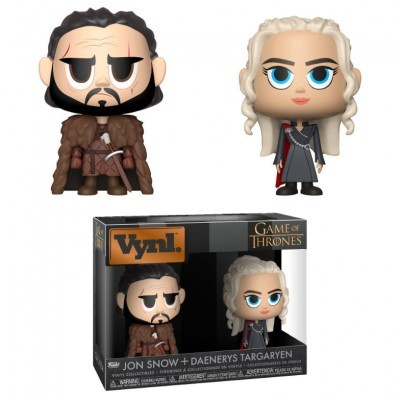 Funko! Vynl Game of Thrones Jon Snow + Daenerys Targaryen