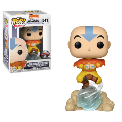 Funko POP! Avatar The Last Airbender Aang On Air Bubble #541 Special Edition