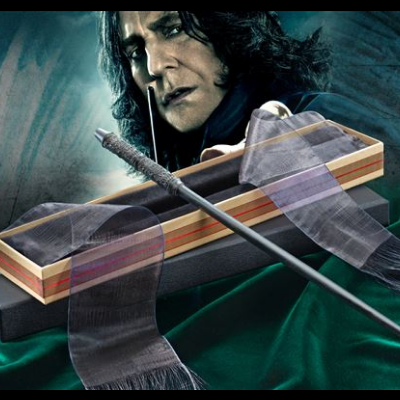 Sverus Snape Wand with Ollivanders Wand Box