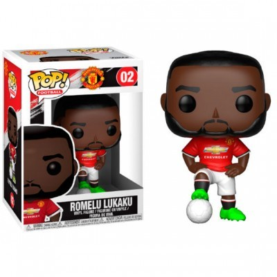 Funko! Pop Football Manchester United Romelu Lukaku #02