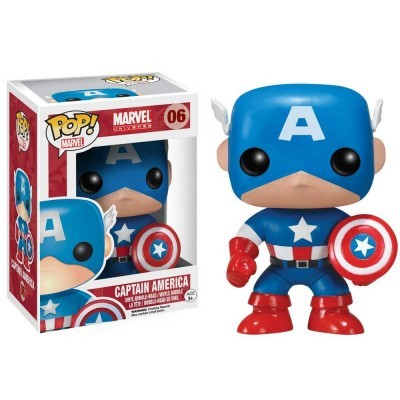 Funko! Pop Marvel Captain America #06