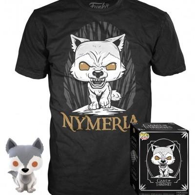 Funko POP! Tees Game Of Thrones Box House Stark Nymeria