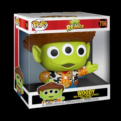 "Funko POP! Disney Pixar Alien Remix Woody 10"" Super Sized #756"