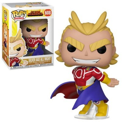 Funko POP! My Hero Academia All Might Silver Age #608