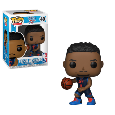 Funko! Pop Basketball Oklahoma City Thunder Russell Westbrook #40