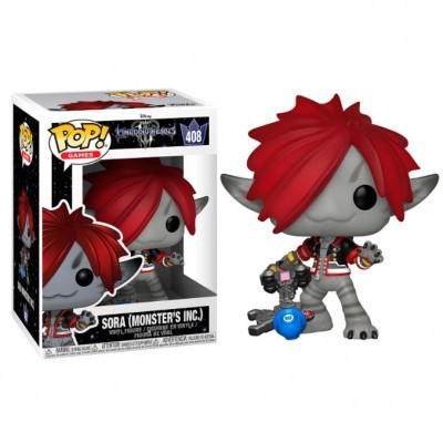 Funko POP! Disney Kingdom Hearts Sora (Monster's Inc.) #408
