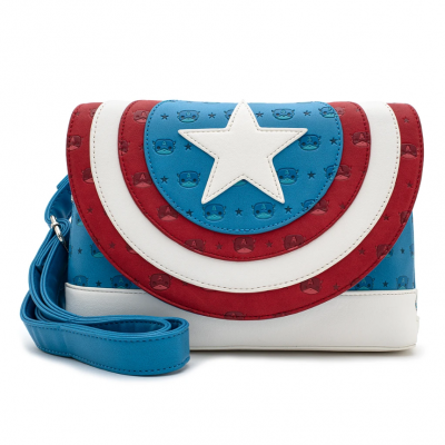 Mala LoungeFly Marvel Captain America
